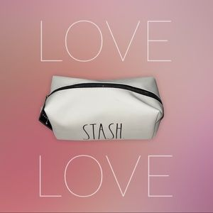 "NWT Rae Dunn ""Stash"" Make Up/Everything Bag"
